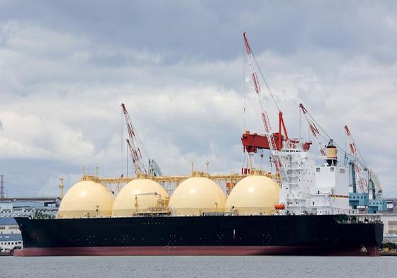 Laut lan LNG