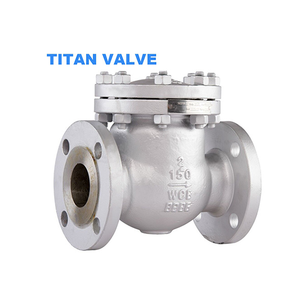 Casting steel WCB Flanged Swing Check Valve ANSI 300LB