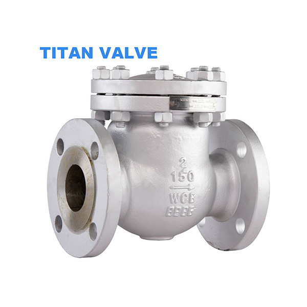 Carbon Steel WCB Flanged Swing Check Valve Class 150