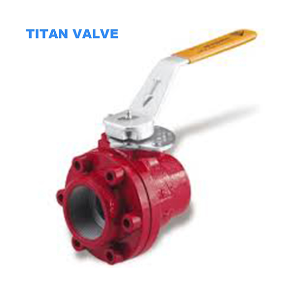 Bolted Body Carbon Steel Oilfield Ball Valve 5000psi