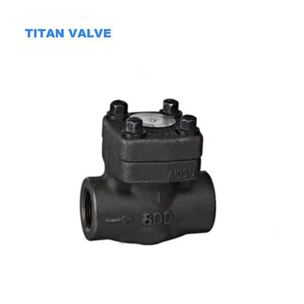 Válvula de retenção ASTM A105, DN25, API 602