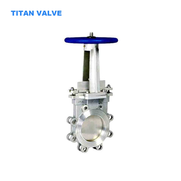 ASTM A351 Stainless Steel Knife Gate Valve Full Bore BB OS&Y