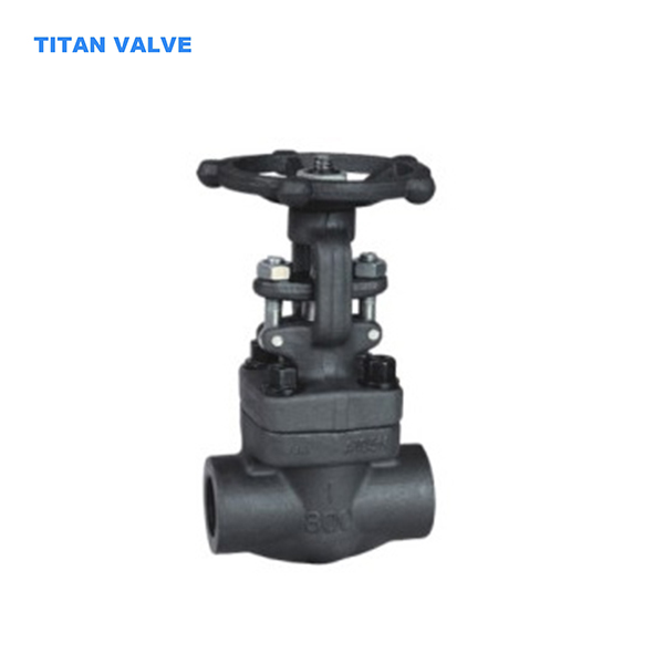API 602 Forged Steel Gate Valve SW DN25 Class 800LB A105